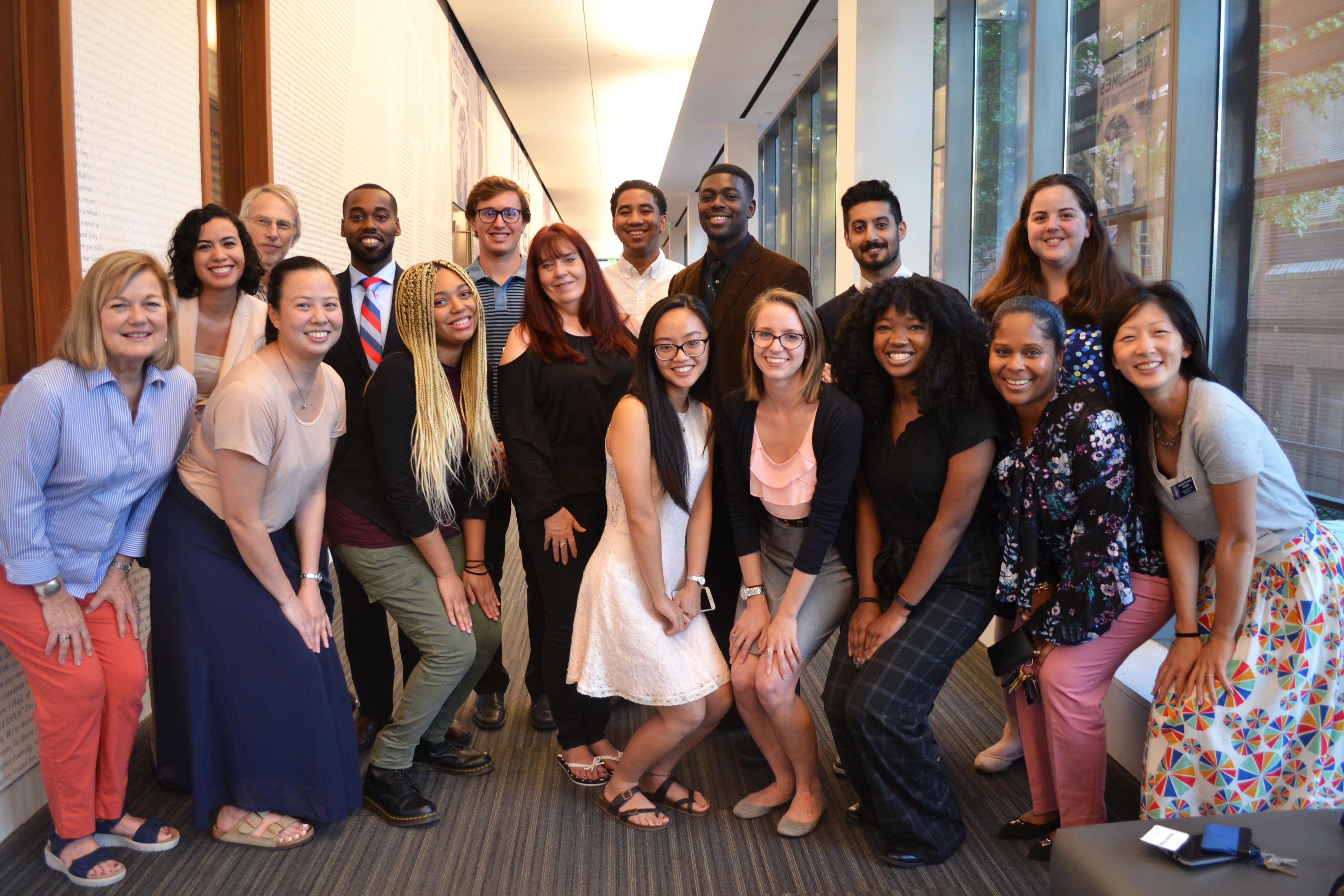 2018 Hoyas for Science Scholarship Recipients
