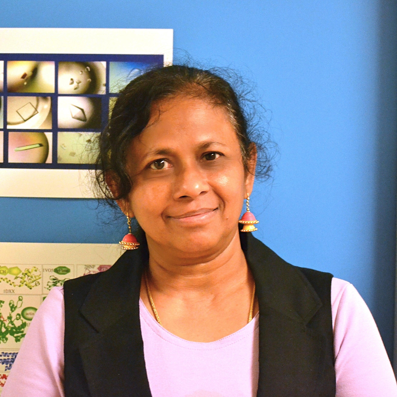 Headshot of Sona Vasudevan.